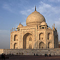 Taj Mahal In Evening Light by Aidan Moran