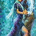 Blue Tango 3 by Leonid Afremov