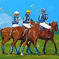 Blue Team by Janina  Suuronen