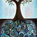 Blue Tree by Manami Lingerfelt