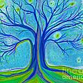 Blue Tree Sky By Jrr by First Star Art
