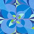 Blue Unity by Kim Sy Ok