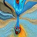 Blue Valve by Marcia Lee Jones