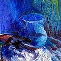 Blue Vase by Frederick  Luff