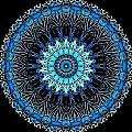 Blue Veins by Dreams in the  Kaleidosphere