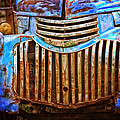 Blue Vintage Car by Annette Coady
