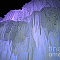 Blue Violet Ice Mountain by Susan Herber