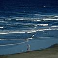 Blue Wave Walking by Patricia Twardzik