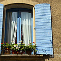 Blue Window And Shutters by Bob Phillips