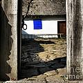 Blue Window  by Daliana Pacuraru
