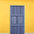 Blue Window by Norman Pogson
