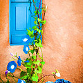 Blue Window - Painted by Bob and Nancy Kendrick