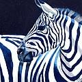 Blue Zebra by Alison Caltrider