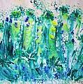 Bluebell Wood by Veronica Rickard