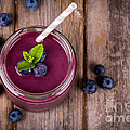 Blueberry Smoothie by Jane Rix