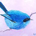 Bluebird by Jan Matson