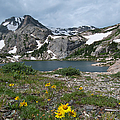 Bluebird Lake - Colorado by Cascade Colors