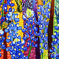 Bluebonnet Garden by Hailey E Herrera