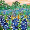 Bluebonnets Sunrise by Karen Tarlton