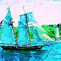 Bluenose Schooner In Halifax by John Malone