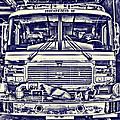 Blueprint Fire Truck by Jim Lepard