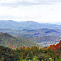 Blueridge Parkway View 2 At Mm 404  by Duane McCullough
