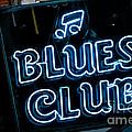 Blues Club On Bourbon Street Nola  by Kathleen K Parker