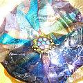 Blues Mandala Bowl by Donna Spencer