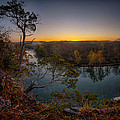 Bluff View Of The Meramec by Robert Charity