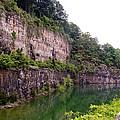 Bluffs Near Marina Norris Dam State Park by Cynthia Woods