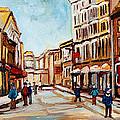 Blumenthals On Craig Street by Carole Spandau