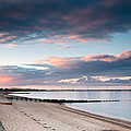 Blyth Harbour At Sunset by David Head