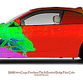 Bmw 335i Coupe Frenchman Flat Hot Colors Nts by Jan W Faul