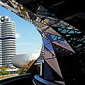 Bmw Headquarters, From Bmw Welt, Or Bmw by Dan Herrick