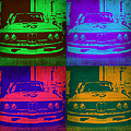 Bmw Racing Pop Art 1 by Naxart Studio
