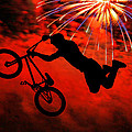 Bmx Fireworks by Mike Flynn