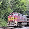 Bnsf Train by Bonfire Photography