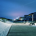 Boardwalk At Night by Don  Sipley