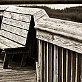 Boardwalk Bench by Marilyn Hunt