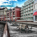 Boardwalk Early Morning by Thomas Woolworth