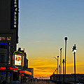 Boardwalk House Of Blues At Sunrise by Bill Cannon