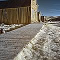 Frost On The Boardwalk by Alan Kepler