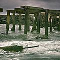 Boardwalk Remnants by Joan Carroll