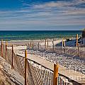 Boardwalk To Cape Cod Bay by Susan Cole Kelly
