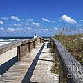 Boardwalk To Paradise by Diane Macdonald