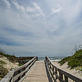 Boardwalk To The Beach by Kay Pickens