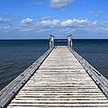 Boardwalk To The Ocean by Aidan Moran
