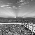 Boardwalk To The Sea by Michelle Wiarda-Constantine