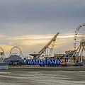 Boardwalk Waterpark Wildwood New Jersey by Bill Cannon