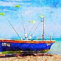 Boat Ashore by Sandy MacGowan